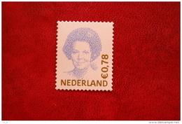 Beatrix 0,78 Euro Gestanst ; NVPH 2041 (Mi 1965) ; 2002 POSTFRIS / MNH ** NEDERLAND / NIEDERLANDE / NETHERLANDS - 1980-... (Beatrix)