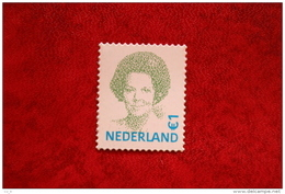 Beatrix 1 Euro Gestanst ; NVPH 2042 (Mi 1966) ; 2002 POSTFRIS / MNH ** NEDERLAND / NIEDERLANDE / NETHERLANDS - 1980-... (Beatrix)