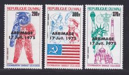 MALI AERIENS N°  258 à 260 ** MNH Neufs Sans Charnière, TB (D8194) Cosmos, Coopération Spatiale USA - URSS - 1975 - Mali (1959-...)