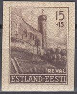 ESTONIA - Occupazione Tedesca - 1941 - Yvert 4 NON Dentellato, Nuovo MH. - Estonie