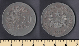 Guinea-Bissau 20 Pesos 1977 - Guinea Bissau