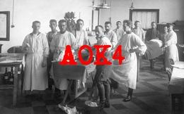 KORTRIJK Feldlazarett 160 1917 Flandern Operatie Hospitaal Operationssaal Chirurg Arzt Rotes Kreuz - Kortrijk