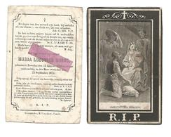 D 518. MARIA LUDOVICA MOONS  - BEVERLOO  1835 / 1874 - Devotion Images