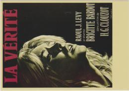 LA VERITE - BRIGITTE BARDOT, H.G. CLOUZOT, FEMME, EROTIQUE, 1960 - CPM TBon Etat (voir Scan) - Posters On Cards