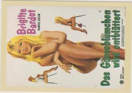 EN EFFEUILLANT LA MARGUERITE - BRIGITTE BARDOT, DANIEL GELIN, FEMME, EROTIQUE, 1956 - CPM TBon Etat (voir Scan) - Posters On Cards