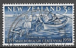 1959 Shipping Wool, 3d, Used - New Zealand
