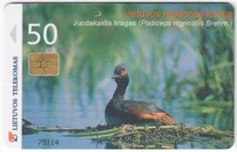 LITUHANIA A-447 Chip Telekomas - Animal, Bird - Used - Lithuania