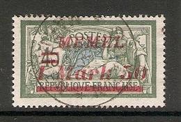 006722 Germany Memel 1922 1 Mark 50pf FU - Klaipeda