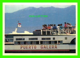 BATEAUX, SHIP - PUERTO GALERA FERRY BOAT, MINDORO, PHILIPPINES - PHOTO BY JOSE T. REINARES JR - - Ferries