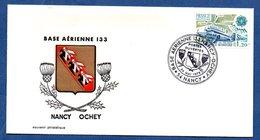 Enveloppe Premier Jour /  Base Aérienne 133  / Nancy  / 24 Mai 1979  / Tâchée Au Dos - FDC