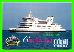 BATEAUX, SHIP - CAPE MAY-LEWES FERRY - MARKETPLACE MERCHANDISING - - Ferries
