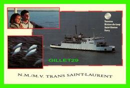 BATEAUX, SHIP - N. M. / M. V. TRANS SAINT-LAURENT FERRY - - Ferries