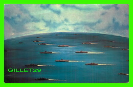BATEAUX, SHIP - USS ALABAMA BATTLESHIP COMMISSION - FAST CARRIER ATTACK GROUP 38-3 - - Guerre