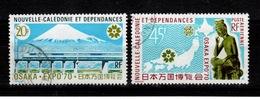 Nouvelle Caledonie - YV PA 117 & 118 Obliteres Osaka Cote 6,20 Euros - Poste Aérienne