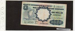 Banconota Malesia E British Borneo 1 Dollar - Billets