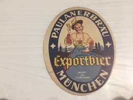 Ancienne Étiquette 1.1 BIÈRE ÉTRANGÈRE PAULANERBRÄU EXPORTBIER MÜNCHEN GERMANY - Bière