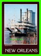 "BATEAUX, SHIP - THE STEAMBOAT "" NATCHEZ "" BERTHED AT THE NEW ORLEANS RIVERFRONT - NATCHEZ, NEW ORLEANS - - Commerce"