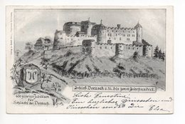 Litho DORNECK Schloss Jubiläum 400 Jahre Gel. 1899 V. Solothurn - SO Soleure