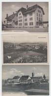 Schweiz , 3 Alte Ansichtskarten Gelaufen , Münchenbuchsee - Schweiz