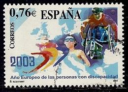 2003-ED. 3985-SERIE COMPLETA-AÑO EUROPEO DE LAS PERSONAS DISCAPACITADAS-USADO - 1931-Today: 2nd Rep - ... Juan Carlos I