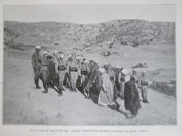 MAROC   Route De Taza  Arrivée Abd Ek Krim  AKNOUL - Non Classés
