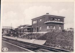 La Nouvelle Station D'Auvelais (chemin De Fer Belgische Spoorwegen ) - Sambreville