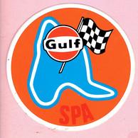 Sticker - GULF - SPA - Autocollants