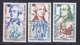 CAMEROUN AERIENS N°  242 à 244 ** MNH Neufs Sans Charnière, TB (D8197) 200 Ans Indépendance Des USA - 1975 - Cameroon (1960-...)