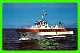 "BATEAUX, SHIP - "" MV "" ST GEORGES "" FORTUNE TO ST PIERRE FERRY - ALLAN STOODLEY - - Ferries"