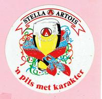 Sticker - STELLA ARTOIS - 'n Pils Met Karakter - Autocollants