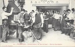 1263    TOURCOING : Ecole De Maréchalerie A L'Institut Colbert 10 Rue De Gand,animée. édit L.S - Tourcoing