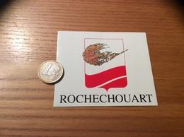 AUTOCOLLANT, Sticker «ROCHECHOUART (87)» (blason, Commune) - Autocollants