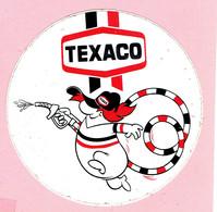 Sticker - TEXACO Tanken - Autocollants