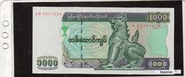 Banconota Myanmar 3000 Kyats - Myanmar