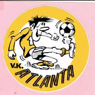 Sticker - V.K. ATLANTA - Voetbal - Autocollants