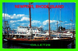 BATEAUX, SHIP - VOILIER À NEWPORT, RHODE ISLAND - - Voiliers