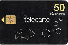 CARTE°-PUBLIC-50U-F1369-GEM1-03/09-POISSON 2-Val 31/12/2010-V° Sans Code Barres-UTILISE-BE- - France