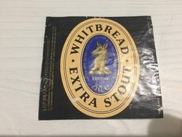 Ancienne Étiquette 1.1 BIÈRE ÉTRANGÈRE WHITBREAD EXTRA STOUT BELGIUM - Bière