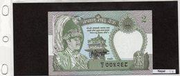 Banconota Nepal  2rupees - Népal
