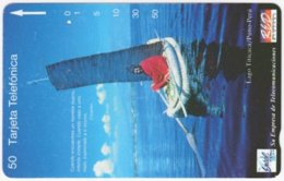 PERU A-101 Magnetic Entel - Traffic, Traditional Boat - Used - Peru
