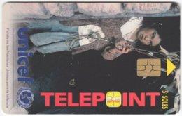 PERU A-108 Chip Telepoint - Int. Organisation, Unicef, Child - Used - Peru