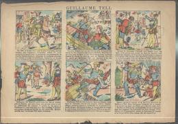 Affichette Publicitaire Coopérative Roubaisienne - Guillaume Tell - Imagerie Pellerin Epinal - Publicités