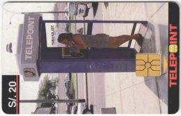 PERU A-113 Chip Telepoint - Communication, Phone Booth - Used - Peru
