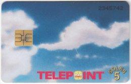 PERU A-115 Chip Telepoint - Used - Peru