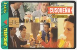 PERU A-127 Chip Telepoint - Drink, Beer - Used - Peru