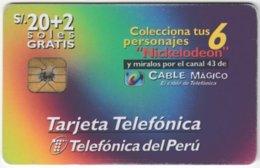 PERU A-137 Chip Telepoint - Used - Peru