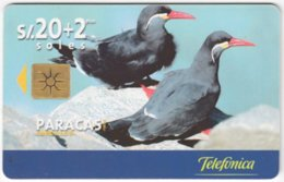 PERU A-153 Chip Telefonica - Animal, Bird - Used - Peru