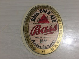 Ancienne Étiquette 1.1 BIÈRE ÉTRANGÈRE BASS PALE ALE BURTON ON TRENT BELGIUM - Bière