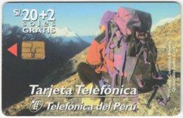PERU A-157 Chip Telefonica - Leisure, Mountain Climbing - Used - Peru