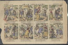Affichette Publicitaire Lessive Aux Images - Le Volcan - Imagerie Pellerin Epinal N°4218 - Publicités